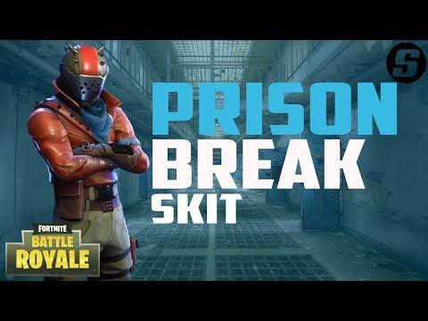 Prison Break In Fortnite Battle Royale [Skit]