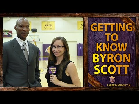lakers - In Lakers Nation's interview with new Lakers head coach Byron Scott, Scott chats about what he remembers from mentoring an 18 year old Kobe Bryant. Join the Largest Lakers Fan Site in the...