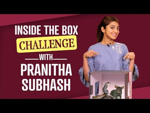 Pranitha Subhash: Inside the Box Challenge   Bollywood   Pinkvilla   Lifestyle   Fashion (видео)