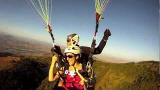 Voo duplo Silmara Paraglider/Parapente Ibituruna