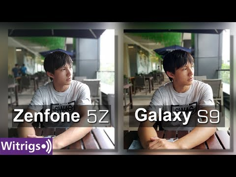 Asus Zenfone 5Z Vs Samsung S9 Camera Test / Camera Comparison