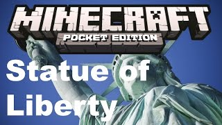 Minecraft PE -  Review - Statue of Liberty Villager - Download