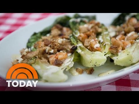 Caesar Salad On The Grill? 'Suits' Actress And Cook Meghan Markle Shows How | TODAY
