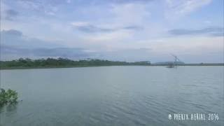 Pangandaran Indonesia  city pictures gallery : Pantai Karangtirta Sukaresik, Pangandaran Indonesia Aerial Video 01.07.16 | DJI Phantom 3