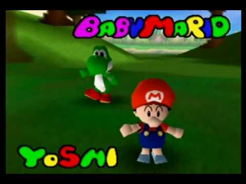 mario golf nintendo 64 all characters