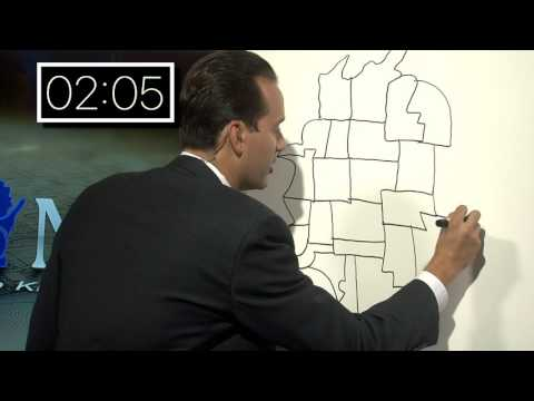 News reporter draws map of Wisconsin county-by-county in less than 3 minutes
