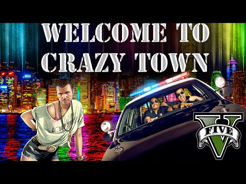 GTA 5: funny moments - LETS BE COPS w/ random acts of violence