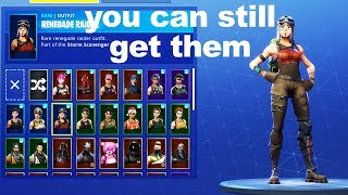 How to get Renegade Raider & Ghoul Trooper in 2018 on Fortnite