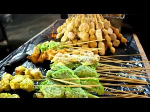 Malaysian Street Food Tour in Kuala Lumpur, Malaysia |  Chinese, Indian and Malay Food JOURNEY