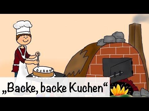 🎵 Backe, backe Kuchen - Kinderlieder | Kinderlieder deutsch - Kinderlieder singen