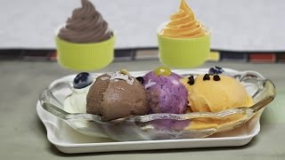 Any Flavored Frozen Yogurt Instantly - No Machine Needed! by Bhavna - YouTube