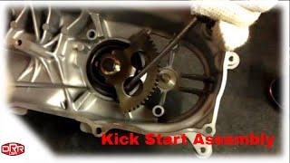 9. Kick Start Spring Installation DRX 50 DRX 90 DRR atv scooter kick start Polaris yamaha