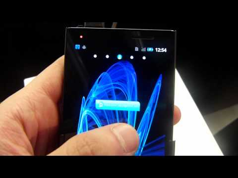 MWC 2012: Panasonic Eluga hands-on