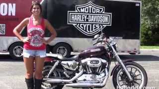 4. Used 2007 Harley Davidson Sportster 1200 Low Motorcycles for sale