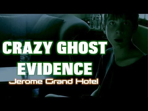 CRAZY GHOST EVIDENCE!! – JEROME GRAND HOTEL