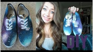 DIY: Galaxy Shoes!