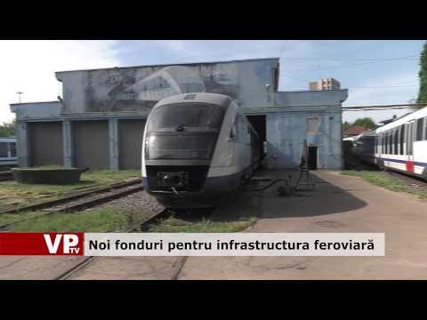 Noi fonduri pentru infrastructura feroviară