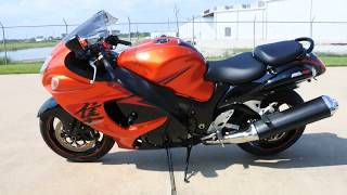 6. For Sale $7,999:  Pre Owned 2008 Suzuki Hayabusa Orange and Black