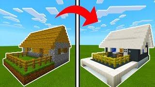 Minecraft Tutorial: How To Transform a Village Butcher Into A Modern Butcher