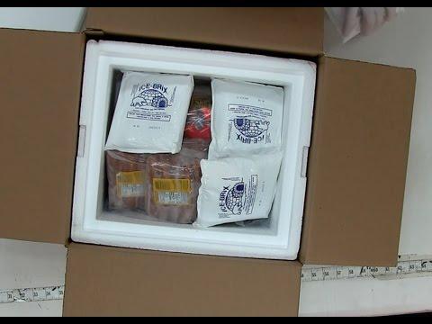 Packaging frozen meat