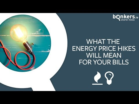What the recent energy price hikes will mean for your bills