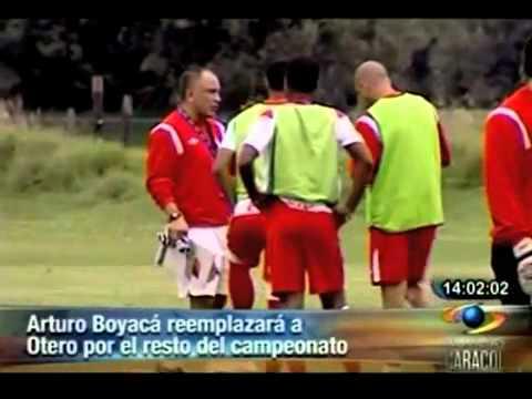 Arturo Boyacá, entrenador de Santa Fe