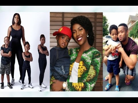 10 Nigerian Celebrities And Their Lovely Kids