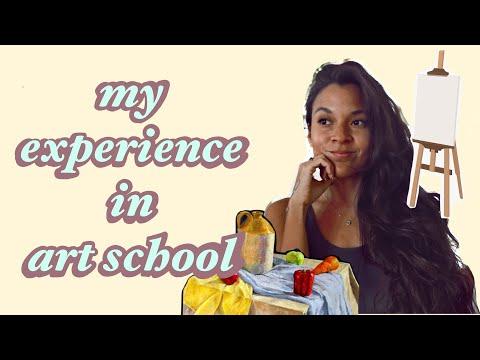 My Experience in Art School 🧑🏽🎨