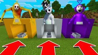 Video DO NOT CHOOSE THE WRONG MINECART IN Minecraft PE (Tinky WInky, Laa Laa, & Guardian Slendytubbies) MP3, 3GP, MP4, WEBM, AVI, FLV Desember 2018