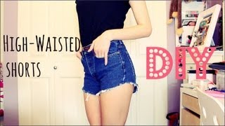 BEST Way to Cut Jeans into Shorts!! | GettingPretty - YouTube