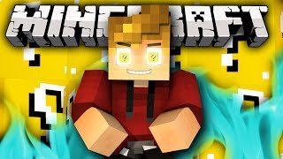 "Minecraft Lucky Block WALLS ""Lucky Bow OP!"" Modded Mini-Game! w/ Lachlan&Friends"