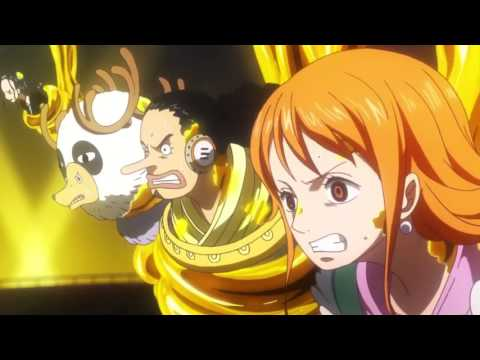 Anime moment One Piece Gold - AMV - Heroes Tonight ( + link to the whole movie eng sub ) (видео)