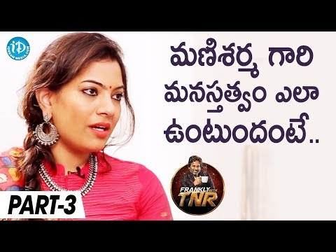 Geetha Madhuri Exclusive Interview Part #3 | Frankly With TNR | Talking Movies With iDream
