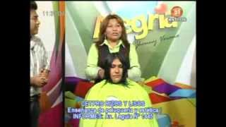 CETPRO RIZOS Y LIZOS demostracion de corte de cabello  25/09/2013
