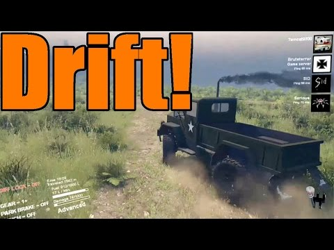 Spin Tires | The Deuce and a Half Goes Drifting! Multiplayer Mods