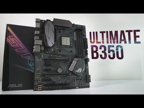Asus B350-F Strix - Premium B350 Board For RYZEN