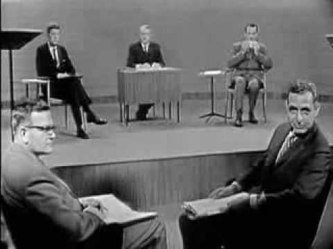 1960 PRESIDENTIAL DEBATE #1 (JOHN F. KENNEDY VS. RICHARD NIXON) (9/26/60)