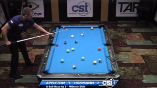 2014 CSI USBTC 8 Ball: Darren Appleton Vs Thorsten Hohmann