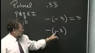 Lecture 02: Beginning Algebra (Math 70)