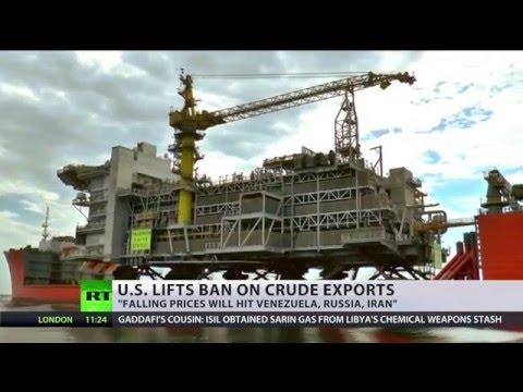 US lifts 40-y.o. ban on crude export amid plummeting oil price