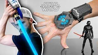 STAR WARS - COLEÇÃO DE BRINQUEDOS OS ÚLTIMOS JEDI!! Hasbro Toys Star Wars The Last Jedi