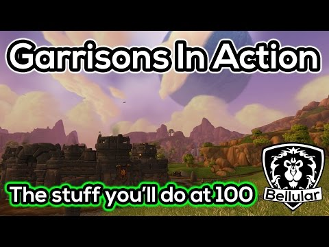 garrison - I thought it would be a good idea to show the kind of gameplay that is associated with the Garrison. ○I Stream on Twitch.tv! - http://bit.ly/BellularTwitch ○...