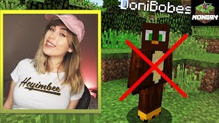 HeyImBee friendzones Doni Bobes during Minecraft Monday Week 4