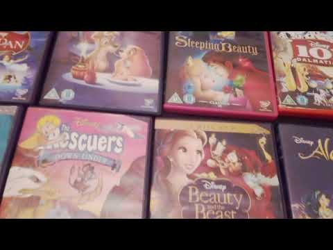 My complete Disney Classics DVD collection. 📀 : 👸💃🐭🐘🐎🐱🐶🐵🐺🐍🐻🐮🐔🐰🐯🐴🐢🐹🐷🐼🐨🐆🐫🐪🐻