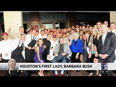 Houston's First Lady, Barbara Bush