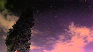 free timelapse download - night sky in tuscany