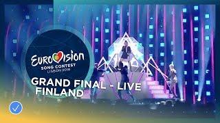 Download Lagu Saara Aalto - Monsters - Finland - LIVE - Grand Final - Eurovision 2018 Mp3