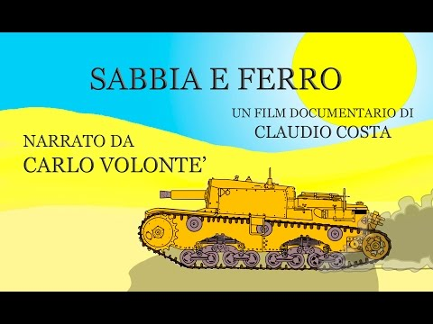 SABBIA E FERRO - animation No 3 semovente 75/18 top view