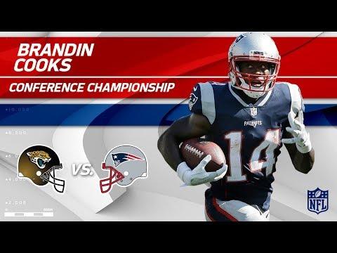 Video: Brandin Cooks Highlights | Jaguars vs. Patriots | AFC Championship Player HLs
