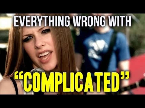 """Everything Wrong With Avril Lavigne - """"Complicated"""""""